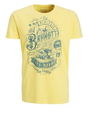 Brunotti Andante Print Tshirt Beach Yellow