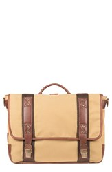 Will Leather Goods Men's 'Signature' Messenger Bag