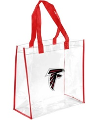 Forever Collectibles Atlanta Falcons Clear Tote Bag