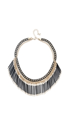 Juliet And Company Soliel Necklace Gold Black