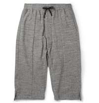 Public School Marl Cotton Terry Shorts Gray