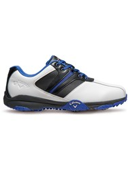 Callaway Chev Comfort Golf Shoes White And Navy White And Navy