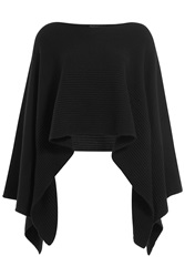 Donna Karan New York Cashmere Cape Black