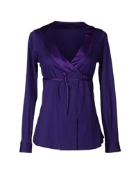 Atos Lombardini Suits And Jackets Blazers Women Purple