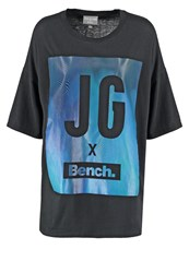 Bench Jess Glynne Keeplaughing Print Tshirt Black