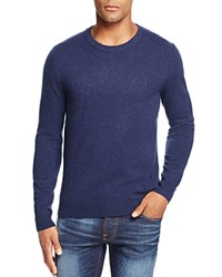 Bloomingdale's The Men's Store At Cashmere Crewneck Sweater New Bright Blue