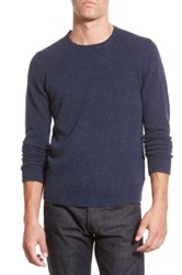 Bonobos Merino Wool Crewneck Sweater Blue