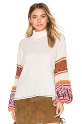 Free People Northern Lights Sweater Ivory