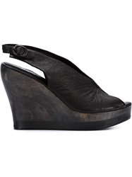Calleen Cordero 'Felipa' Wedge Sandals Black