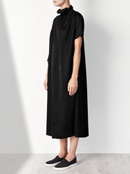 John Lewis Kin By Limited Edition Ruched Neck Dress Black