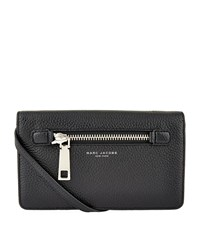 Marc Jacobs Small Gotham City Cross Body Wallet Female Black