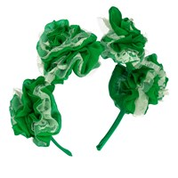 Vjera Vilicnik Carnation Headband Green