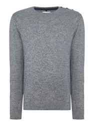Blend Of America Knit Pullover Blue Royale