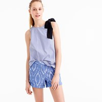 J.Crew Cotton Short In Sunfaded Ikat