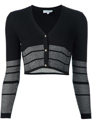 Narciso Rodriguez Cropped Cardigan Black