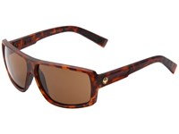 Dragon Alliance Double Dos Matte Tortoise Bronze Sport Sunglasses Black