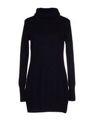 Alpha Massimo Rebecchi Knitwear Turtlenecks Women Dark Blue