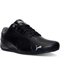 Puma Men's Drift Cat 5 Carbon Casual Sneakers From Finish Line Black