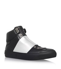 Jimmy Choo Archie Strap High Top Sneakers Male Black