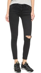 Dl1961 Margaux Ankle Skinny Jeans Busted
