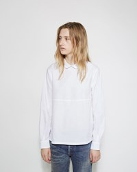 Chimala Round Collar Shirt Off White
