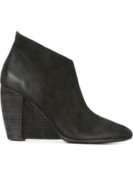 Marsell Marsell Wedge Boots Black