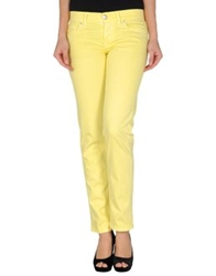 M.Grifoni Denim Denim Pants Light Yellow