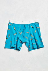 Urban Outfitters Cell Phone Boxer Brief Teal