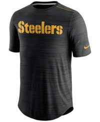 Nike Men's Pittsburgh Steelers Player Short Sleeve T Shirt Gold Gold