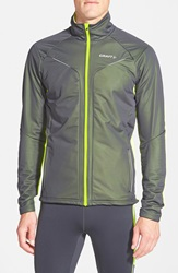 Craft 'Storm Outdoor' Running Jacket Asphalt Flumino