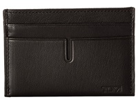 Tumi Chambers Slim Card Case Black Credit Card Wallet