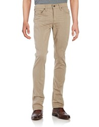 Joe's Jeans Cotton Slim Fit Chinos Taupe