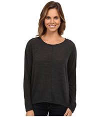 Gabriella Rocha Charming Knit Top Granite Women's Clothing Gray