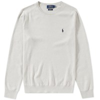 Polo Ralph Lauren Pima Cotton Crew Knit Grey