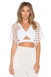 Alice Mccall What A Wonderful World Top White