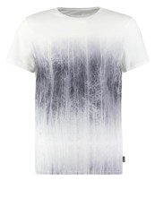 Kiomi Slim Fit Print Tshirt White
