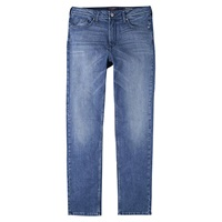 Violeta By Mango Straight Theresa Jeans Medium Blue