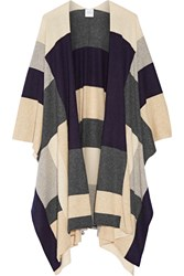 Madeleine Thompson Color Block Cashmere Wrap