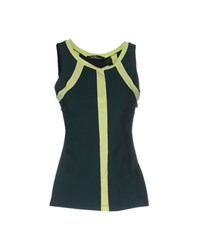 Pianurastudio Topwear Tops Women Dark Green