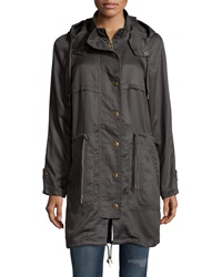 Raison D'etre Tech Fabric Anorak Jacket Charcoal