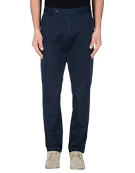 Daniele Fiesoli Trousers Casual Trousers Men Dark Blue