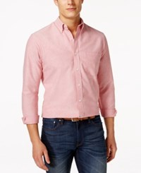 Club Room Big And Tall Button Down Oxford Long Sleeve Shirt Only At Macy's Fire