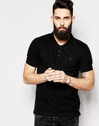 Only And Sons Pique Polo Shirt Black