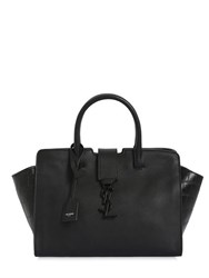 Saint Laurent Baby Cabas Ysl Embossed Leather Bag