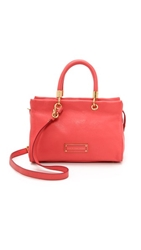 Marc By Marc Jacobs Too Hot To Handle Satchel Bag Rose Bush
