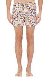 Sleepy Jones Men's Floral Jasper Boxers Multi