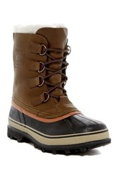 Sorel Caribou Fleece Lined Waterproof Boot Green