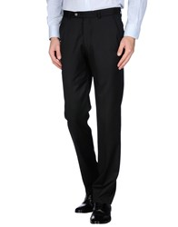 Armani Collezioni Trousers Casual Trousers Men Black