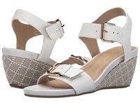 David Tate Touch White Women's Sandals