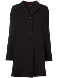 Apuntob Long Jacket Black